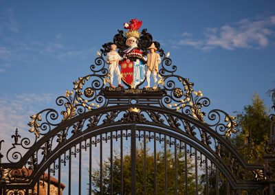 gate of castle park