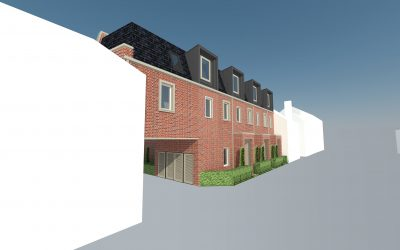 Construction starts to build new council-owned family homes in Military Road, Colchester