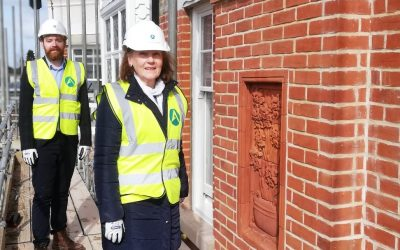Topping out at Creffield Villa heralds sale of new homes and apartments in Lexden