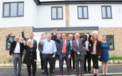 New build homes completed for families on the housing register